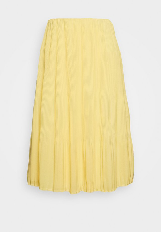 CECILIE SKIRT - A-Linien-Rock - sunshine