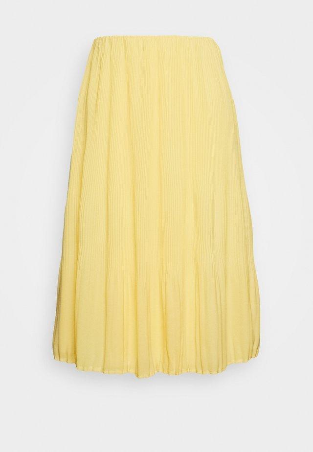 CECILIE SKIRT - Spódnica trapezowa - sunshine