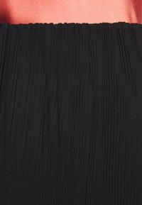 Bruuns Bazaar - CECILIE SKIRT - Áčková sukně - black - 5