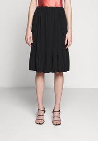Bruuns Bazaar - CECILIE SKIRT - Áčková sukně - black - 0
