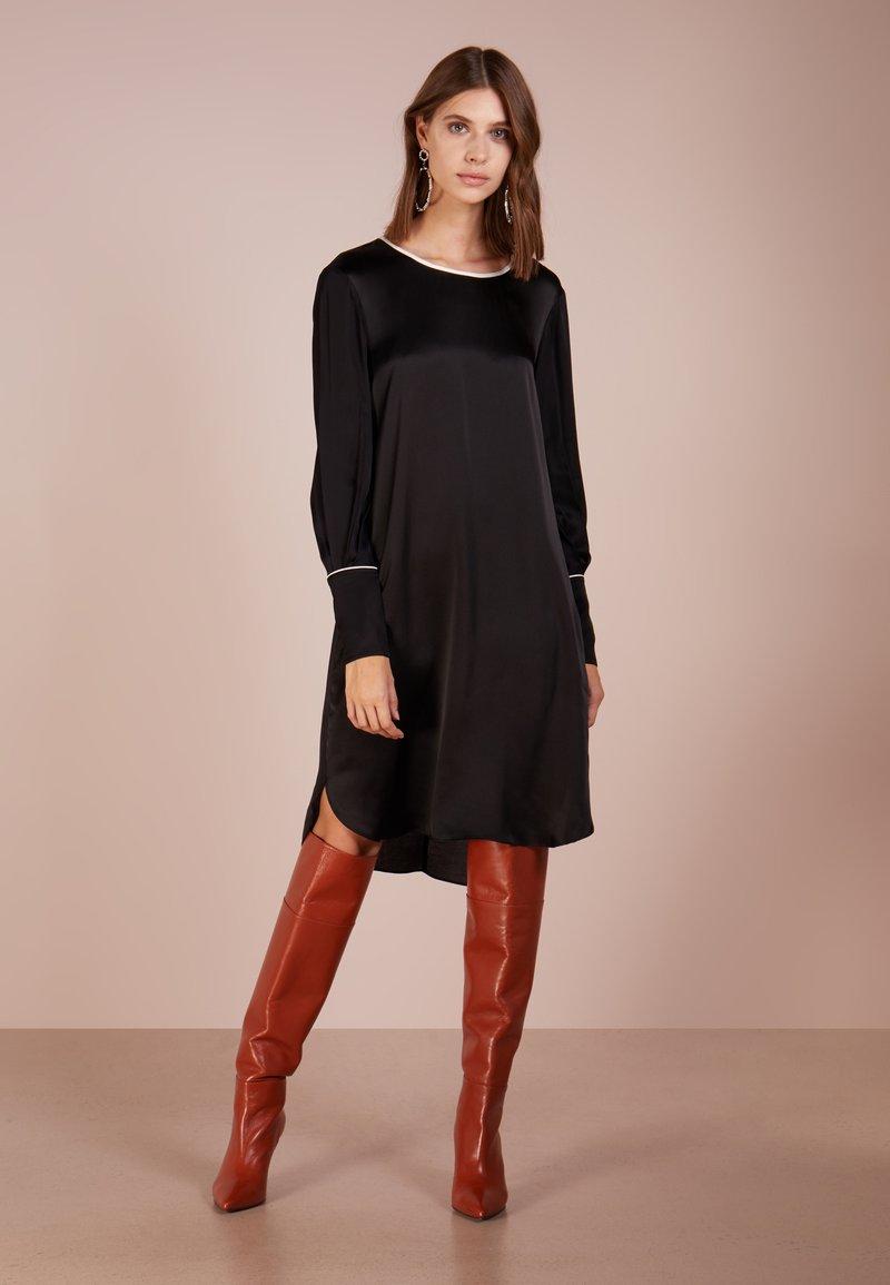 Bruuns Bazaar - BECCA ASTRA DRESS - Vestido informal - black