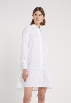 ROSA ALLIA DRESS - Sukienka koszulowa - white
