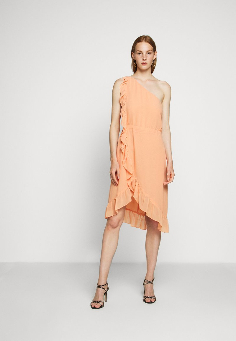 Bruuns Bazaar - ROSALINA KENDRA DRESS - Cocktailjurk - coral