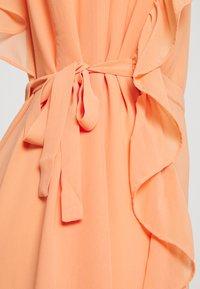 Bruuns Bazaar - ROSALINA KENDRA DRESS - Vestito elegante - coral - 2