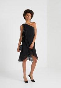 Bruuns Bazaar - ROSALINA KENDRA DRESS - Cocktail dress / Party dress - black - 1