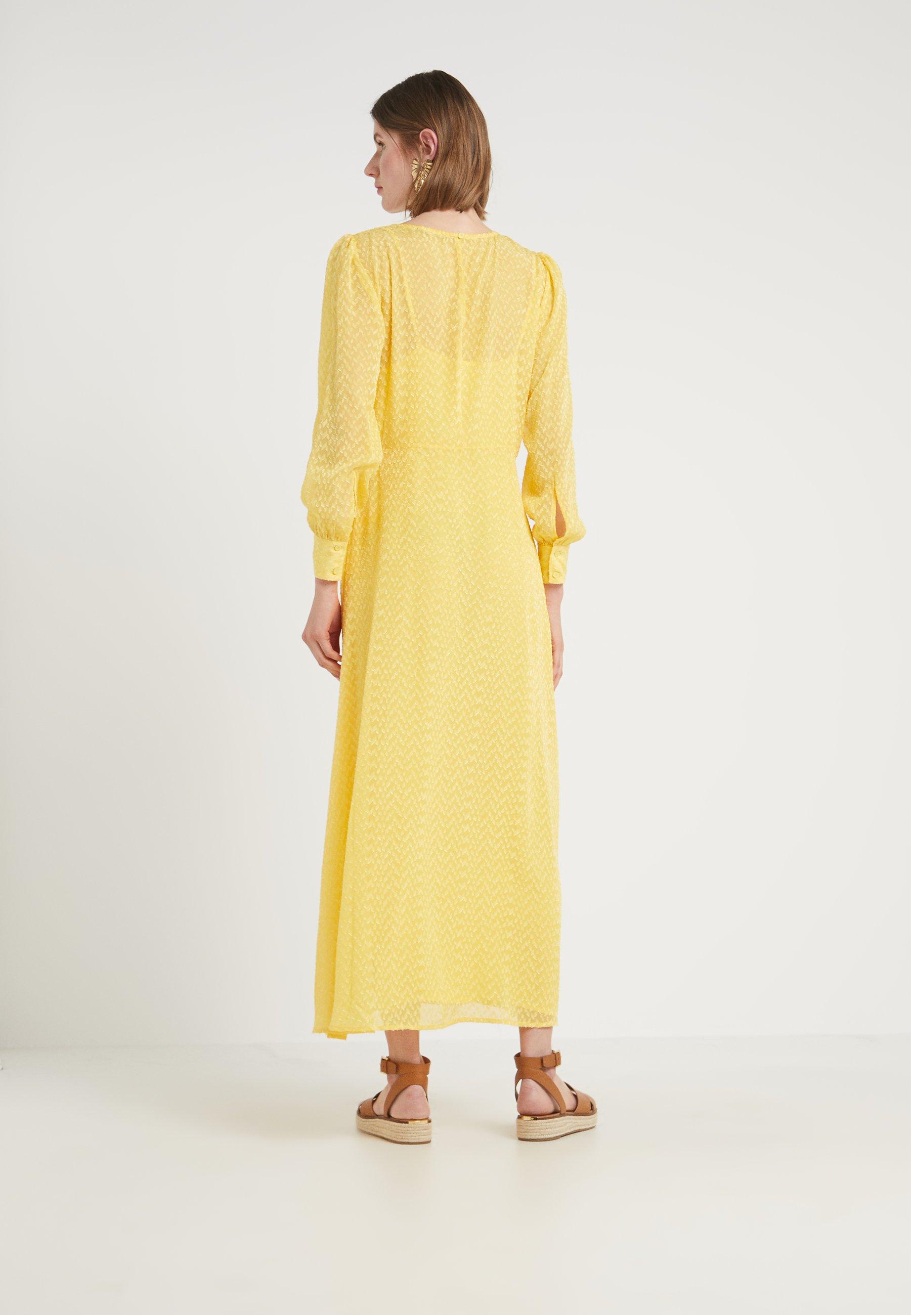 DressRobe Longue Yellow Peachy Bruuns Luzia Zilke Bazaar IYf6gyv7b