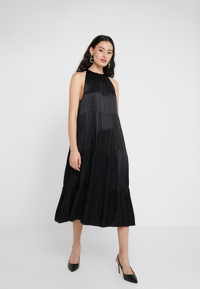 GRO MAJA DRESS - Juhlamekko - black