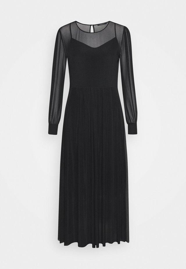 THORA LUCIA DRESS - Maxikjole - black