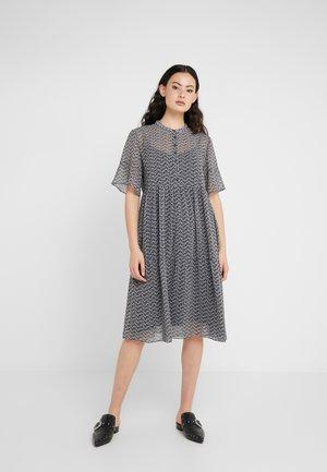 ALIVA PASSION DRESS  - Skjortklänning - navy artwork