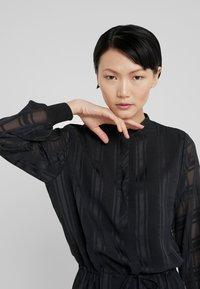 Bruuns Bazaar - FREYA ELIN DRESS - Skjortklänning - black - 3
