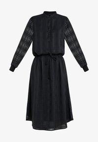 Bruuns Bazaar - FREYA ELIN DRESS - Skjortklänning - black - 5