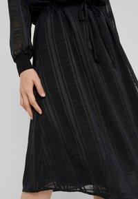 Bruuns Bazaar - FREYA ELIN DRESS - Skjortklänning - black - 6