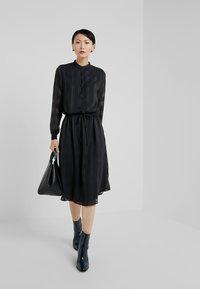 Bruuns Bazaar - FREYA ELIN DRESS - Skjortklänning - black - 1