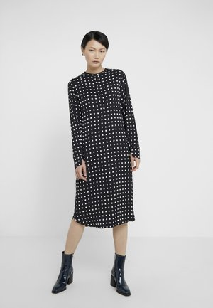 BONNE CARIN DRESS - Skjortklänning - black