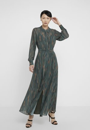 CORA DRESS - Vestido largo - deep forest