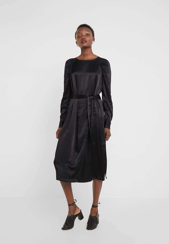 PHILOSOPHY NILE DRESS - Cocktailkjoler / festkjoler - black