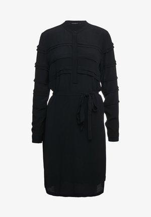 LILLI VICHY DRESS - Day dress - black