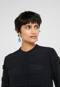 Bruuns Bazaar - LILLI VICHY DRESS - Kjole - black - 4