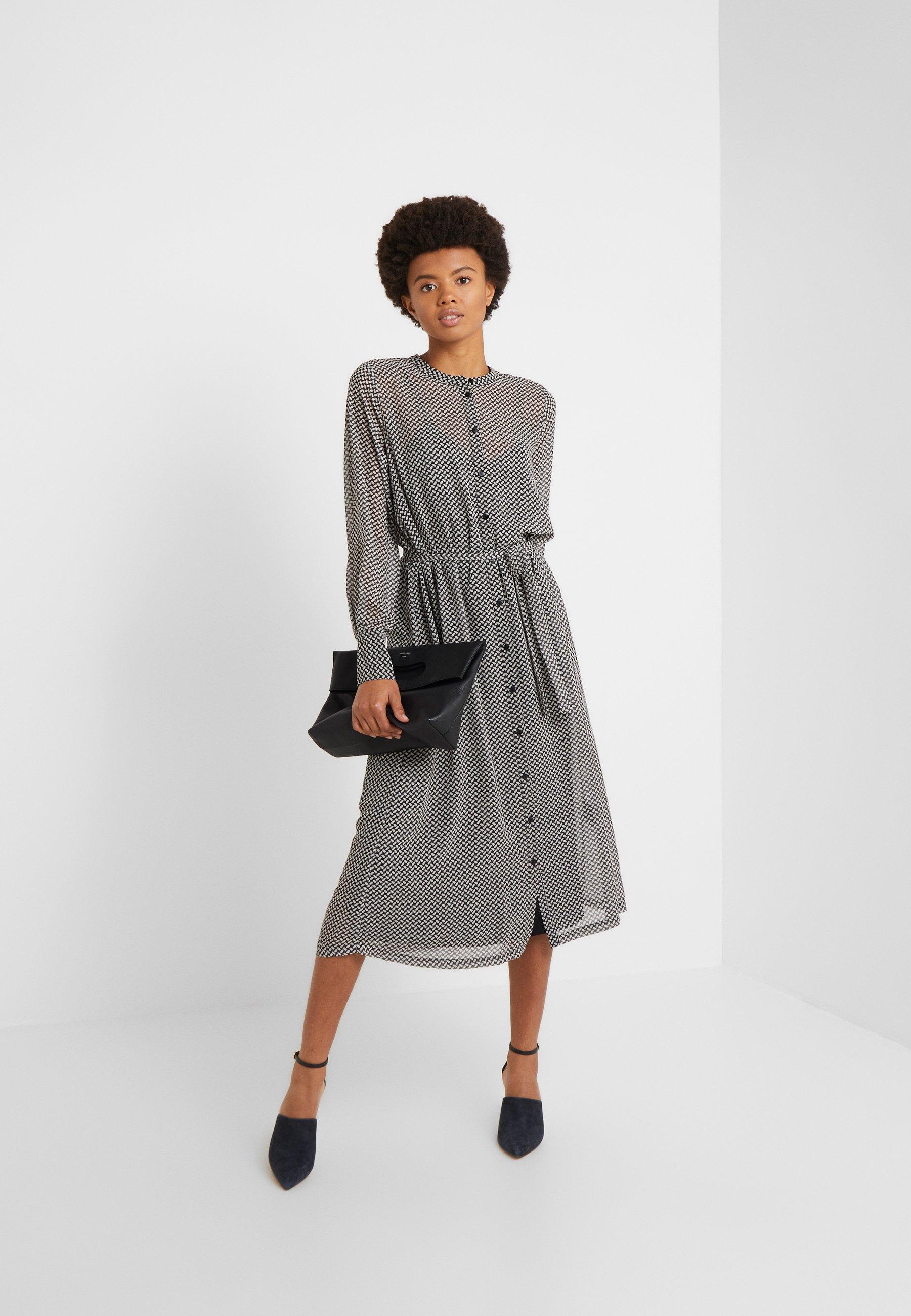 Bruuns Bazaar CACA MIRRAH DRESS - Sukienka koszulowa - black