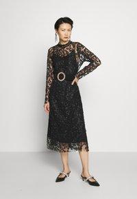 Bruuns Bazaar - PEARLA VIE DRESS - Sukienka koktajlowa - black - 1