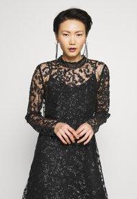 Bruuns Bazaar - PEARLA VIE DRESS - Sukienka koktajlowa - black - 3