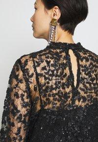 Bruuns Bazaar - PEARLA VIE DRESS - Sukienka koktajlowa - black - 5
