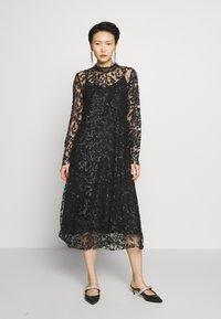 Bruuns Bazaar - PEARLA VIE DRESS - Sukienka koktajlowa - black - 0