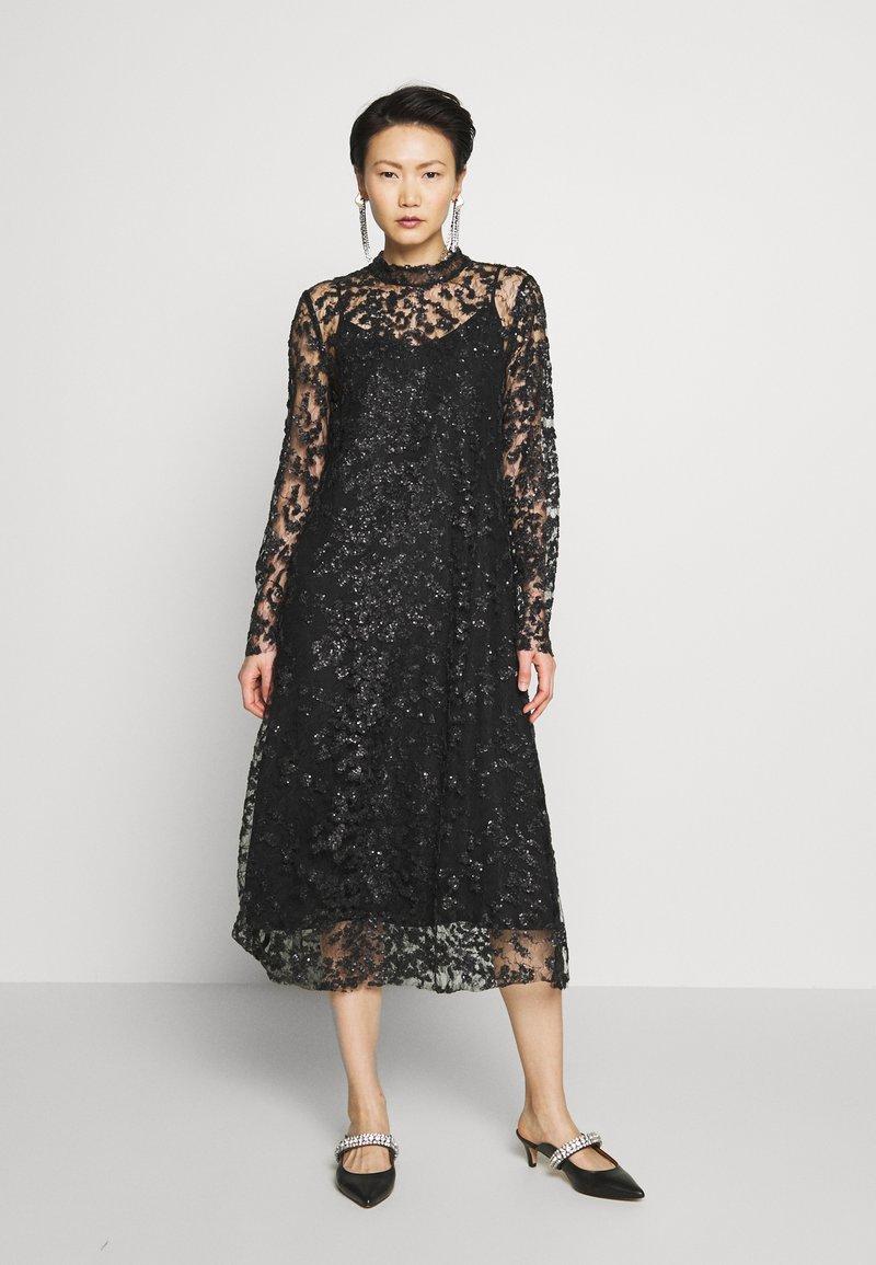 Bruuns Bazaar - PEARLA VIE DRESS - Sukienka koktajlowa - black