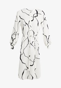 Bruuns Bazaar - BONNE ABSTRACT DRESS - Vestito estivo - snow white - 3