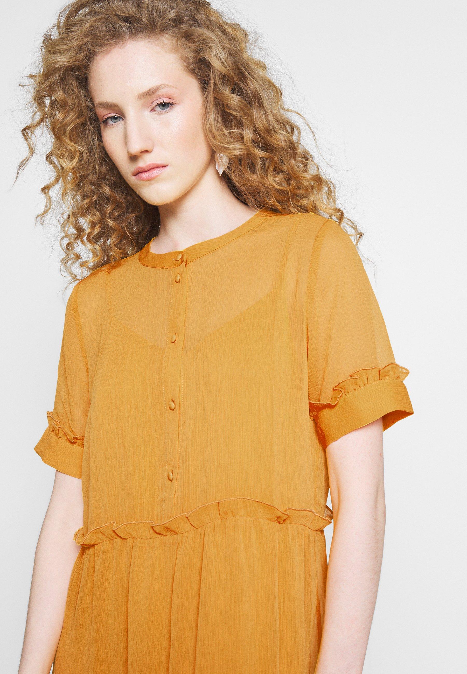 orange glow Bruuns Bazaar Marie Silje mekko | 34 | Naiset