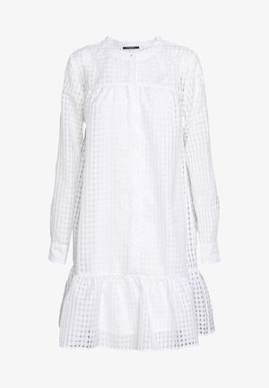 SANTONIA DRESS - Shirt dress - snow white