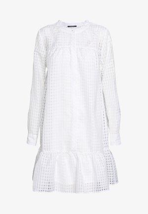SANTONIA DRESS - Blusenkleid - snow white