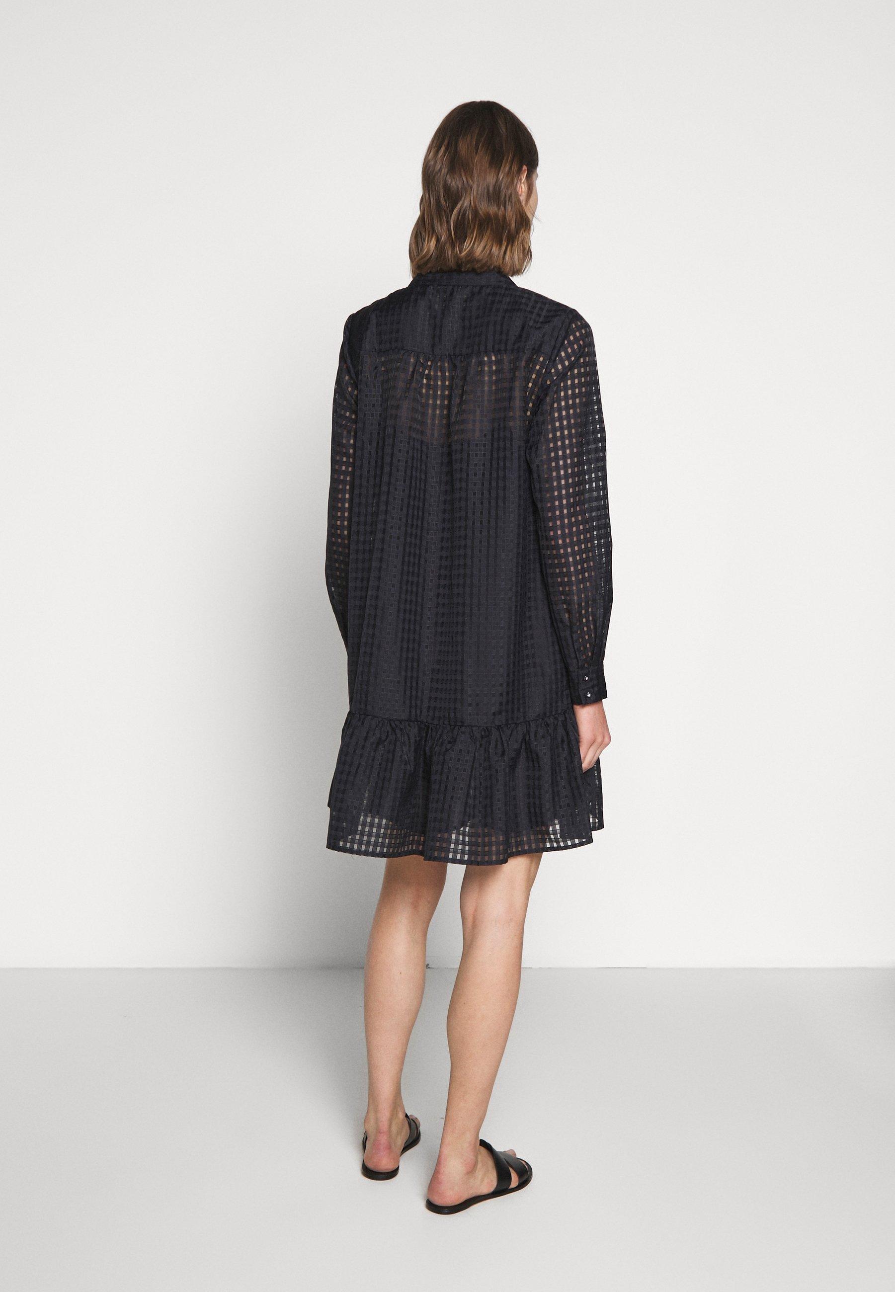 Bruuns Bazaar SANTONIA DRESS - Abito a camicia - night sky