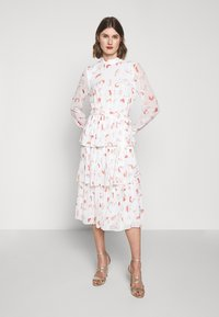 Bruuns Bazaar - BRUSH ENOLA DRESS - Hverdagskjoler - offwhite - 0