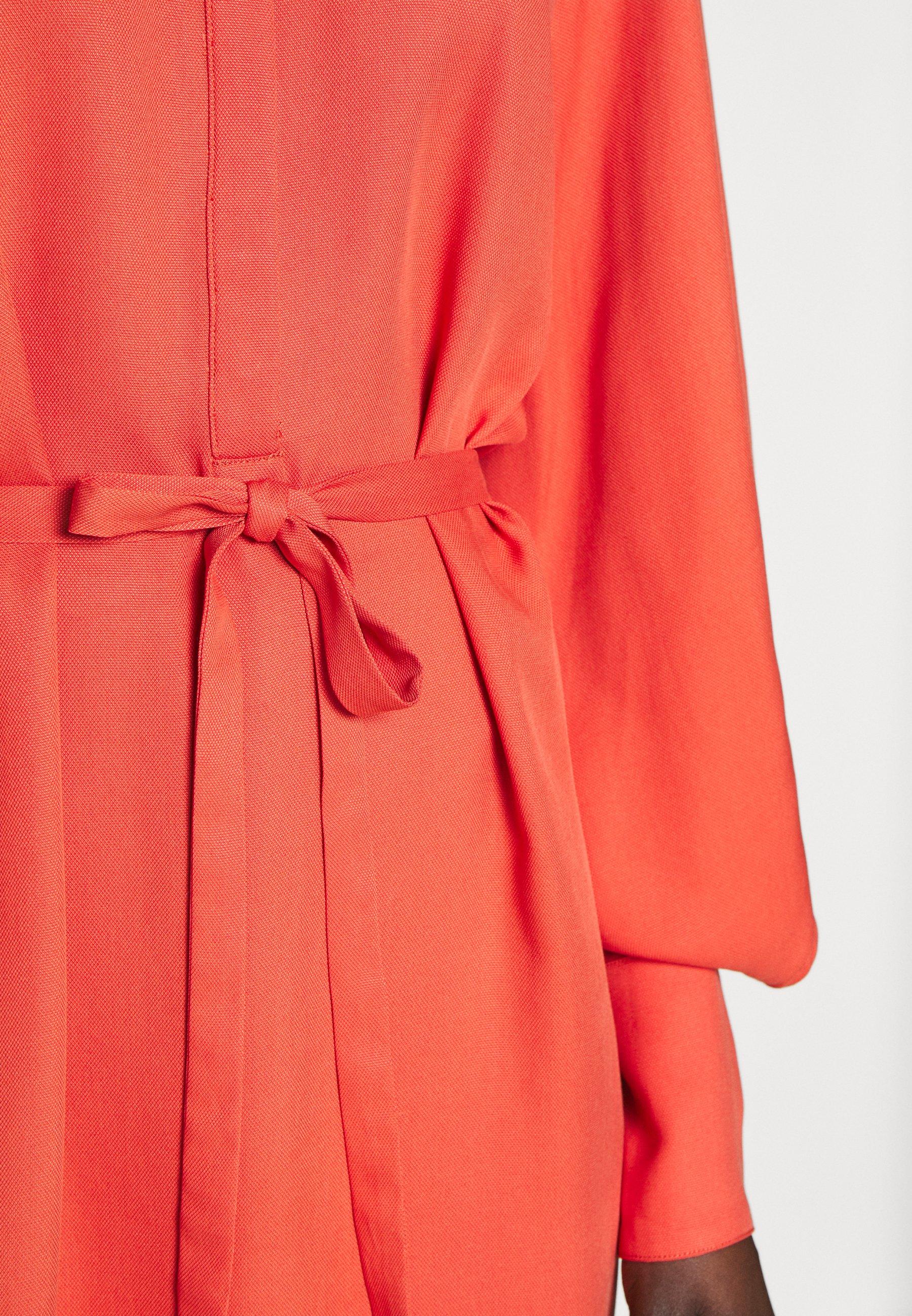 Bruuns Bazaar PRALENZA ESRA DRESSES - Sukienka koszulowa - poppy red