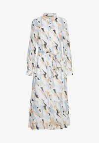 Bruuns Bazaar - POETICA KORA DRESS - Skjortekjole - white/light blue - 5