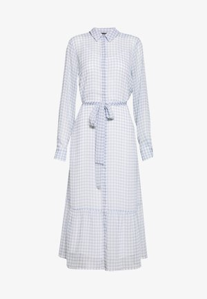 CHECKS KORA DRESS - Abito a camicia - light blue