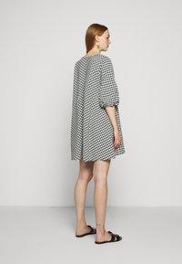 Bruuns Bazaar - SEER ALLURE DRESS - Denní šaty - black/white - 2