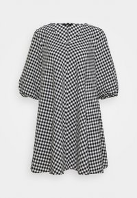 Bruuns Bazaar - SEER ALLURE DRESS - Denní šaty - black/white - 4
