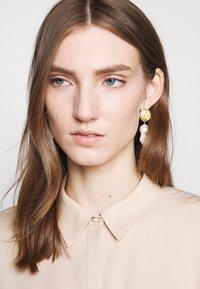Bruuns Bazaar - LAERA DEEP DRESS - Košilové šaty - sand - 4