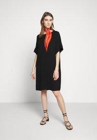 Bruuns Bazaar - HALAH GIGI DRESS - Hverdagskjoler - black - 1