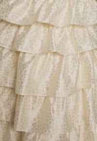 Bruuns Bazaar - FOLJA ANINE DRESS - Vestito elegante - gold - 2