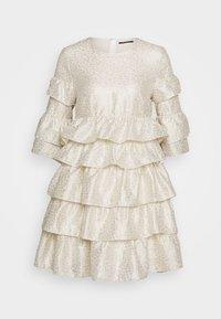 Bruuns Bazaar - FOLJA ANINE DRESS - Vestito elegante - gold - 0