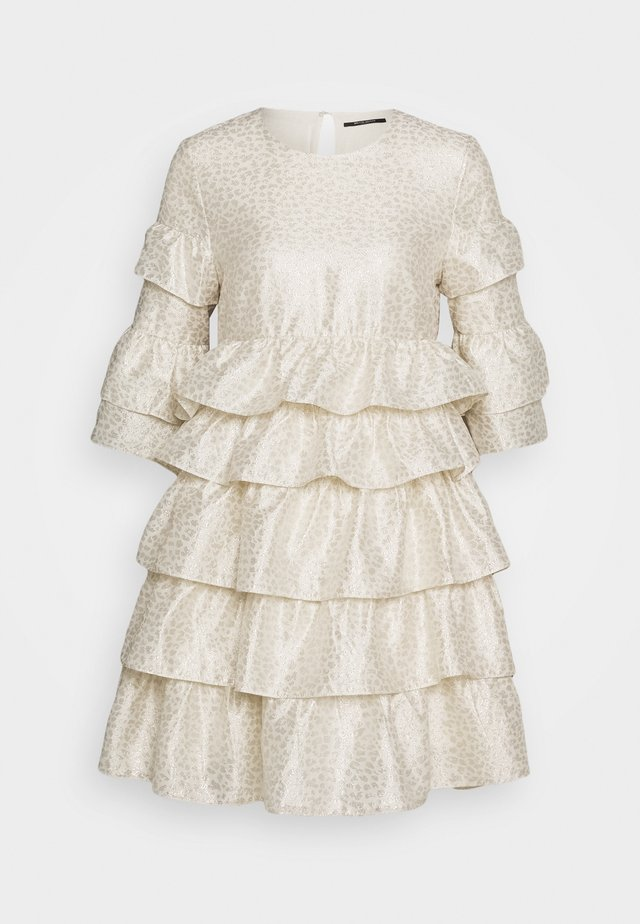 FOLJA ANINE DRESS - Juhlamekko - gold
