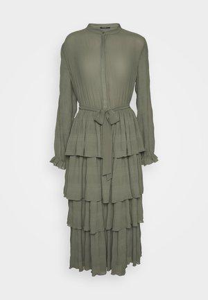 JUSTINA SANA DRESS - Shirt dress - olive green