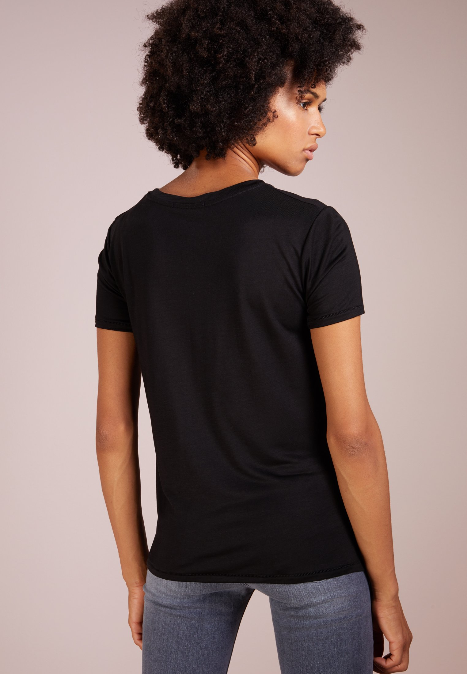 Bruuns Bazaar KATKA - T-shirts - black