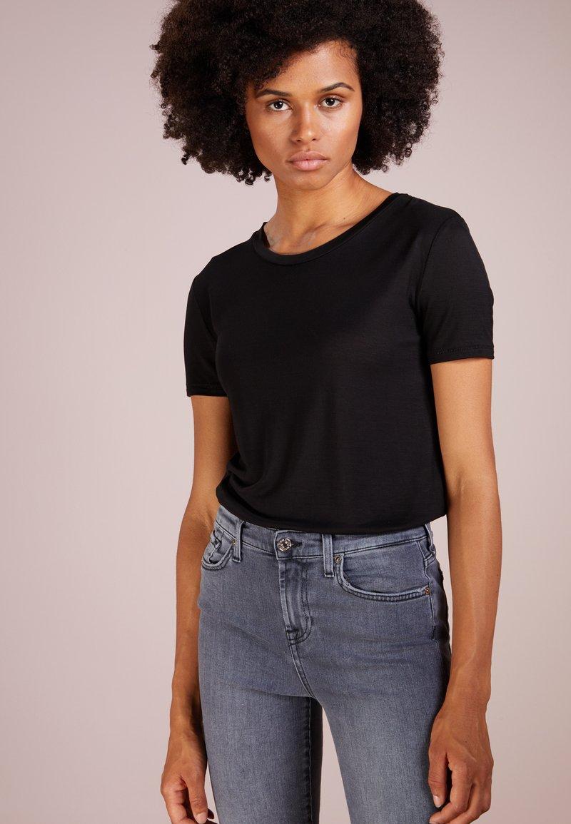 Bruuns Bazaar - KATKA - T-shirt - bas - black