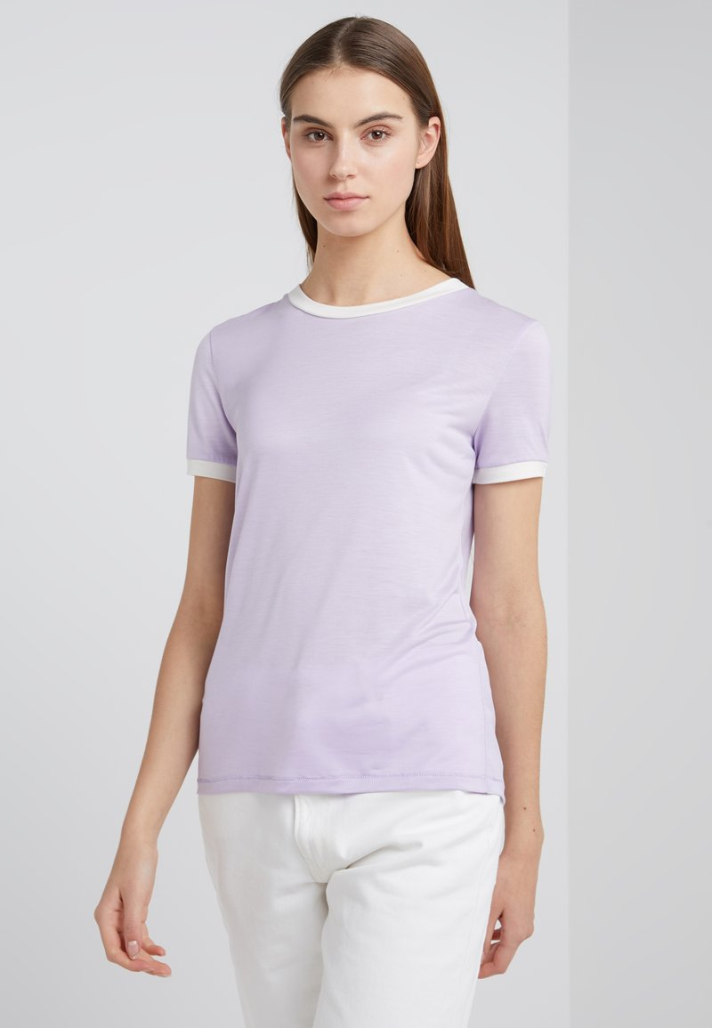 Bruuns Bazaar - KATKA ELSA TEE - T-shirt imprimé - pale lavender