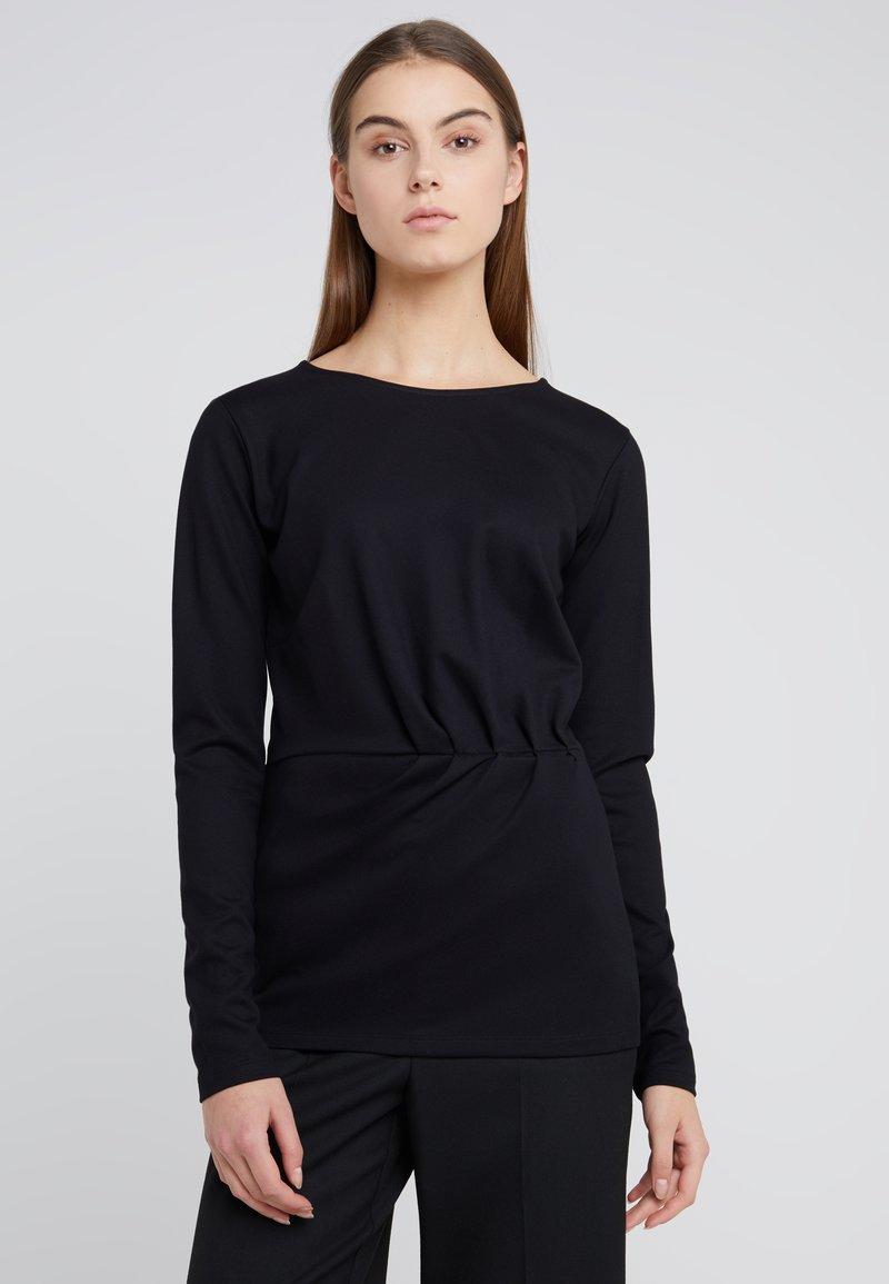 Bruuns Bazaar - TAMI ALICIA - Langarmshirt - black