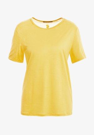 MOLLY PERLA TEE - T-shirt basic - peachy yellow